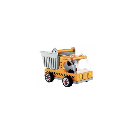 Gele Kiepwagen Speelgoedauto Geboorte versiering kopen