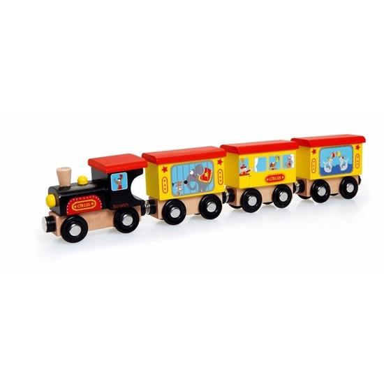 ScratcheuropeHouten speelgoed circus treintje