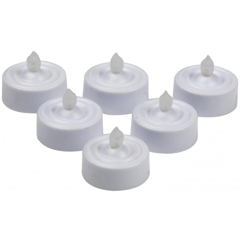 LED waxinelichtjes 6 stuks