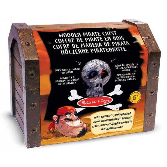 Piraten schatkist met accessoires