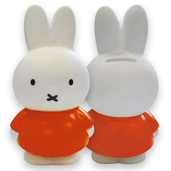 Speelgoed Nijntje Spaarpot Oranje Nijntje kopen