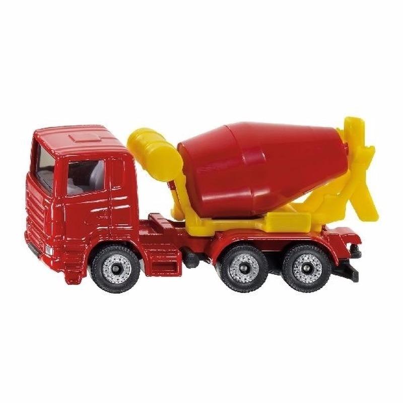 Speelgoed SIKU Cement mixer truck schaalmodel 8 cm online kopen