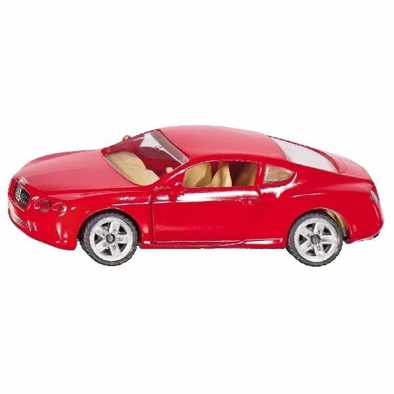 Speelgoed SIKU sportwagen Bentley V8 8 cm